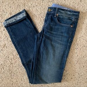 Gap REAL STRAIGHT jeans 26 worn once